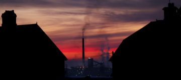The UK's greenhouse gas emissions fell nearly 10 per cent in 2020 as the pandemic saw energy usage from transport use tumble.