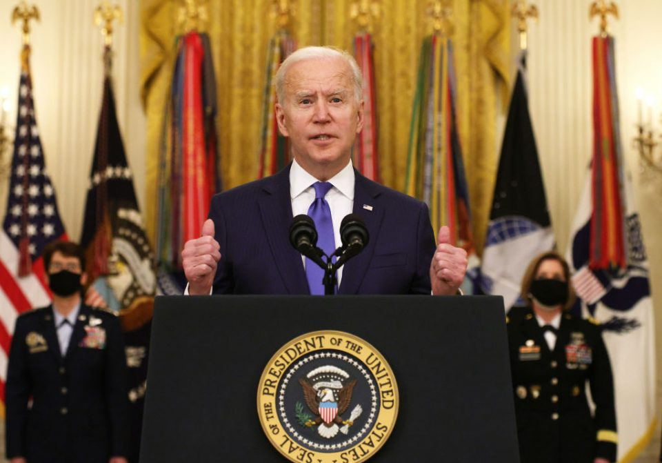 US House of Representatives will take up Biden's COVID-19 relief bill.
