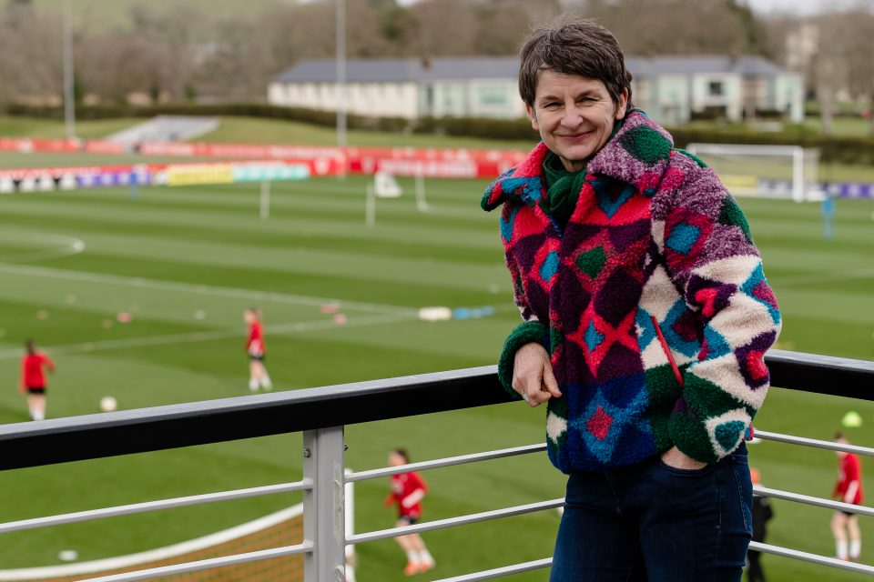 McAllister played for Cardiff City for 12 years and became captain of Wales. She is now a professor at Cardiff University and sports governance professional.