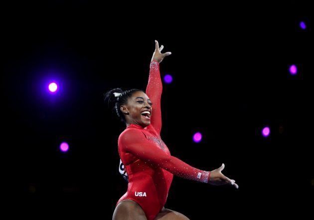 Gymnast Simone Biles has followed track athlete Allyson Felix in leaving Nike for Gap-owned brand Athleta