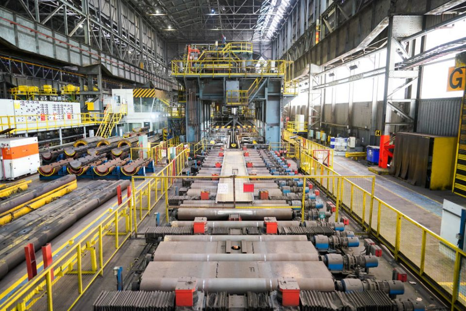 Annalise Dodds Visits Liberty Steel Pipe Mill