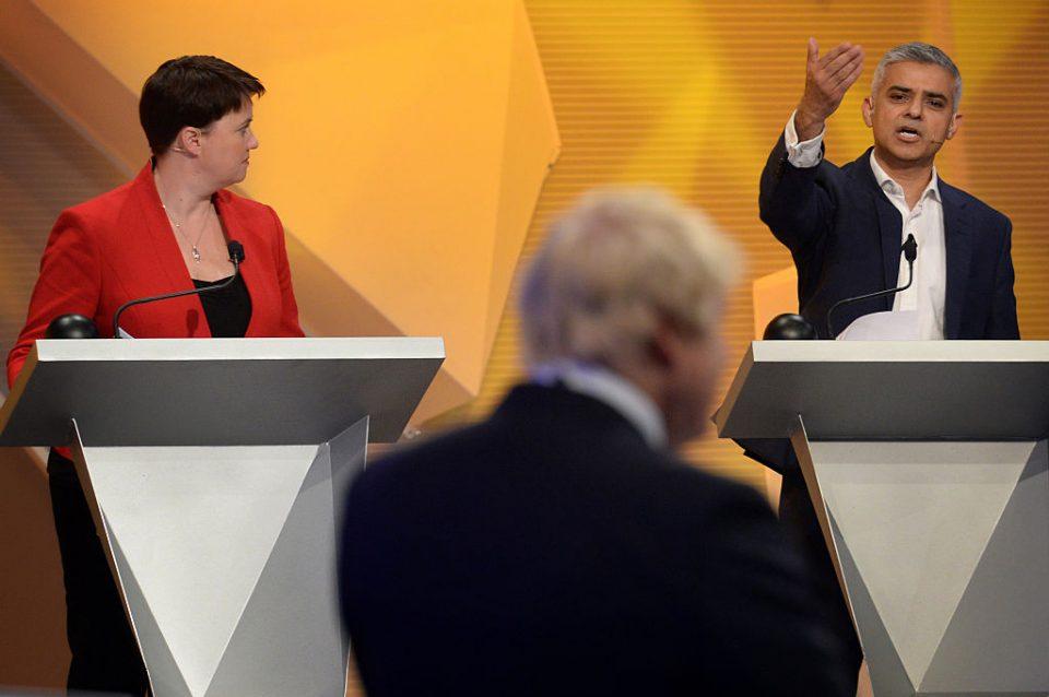 BBC Hosts EU Debate At Wembley Arena