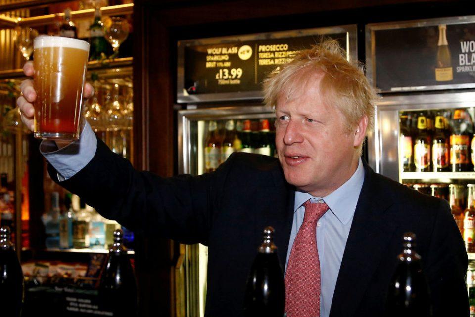Boris Johnson Campaigns In Central London