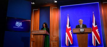 Boris Johnson Holds Coronavirus Press Conference