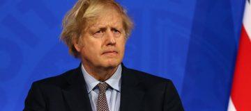 Boris Johnson Holds Virtual Press Conference On The Coronavirus Pandemic