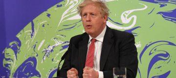 Boris Johnson Makes Speech At US Summit On Climate