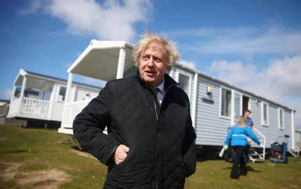 Boris Johnson Visits Cornwall