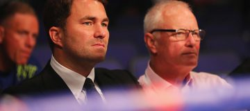 Eddie Hearn is to be the new head of the Matchroom group after father Barry announced he was calling time on his four decades in charge