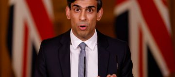 Chancellor Rishi Sunak Holds Press Conference On 2021 Budget