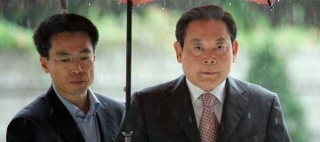 Ex Samsung Chief Handed Judgment For Tax Evasion