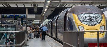 First Eurostar Arrives From France  After 4am Quarantine Deadline Passes