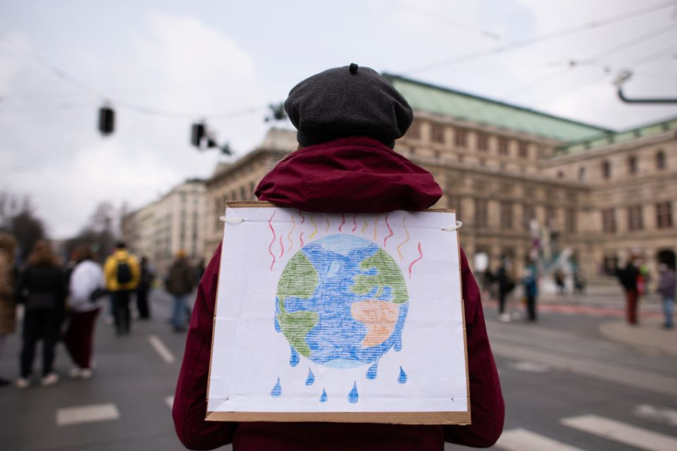 Fridays For Future Protest In Vienna