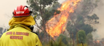 Homes Destroyed As Bushfires Continue Across Perth Hills
