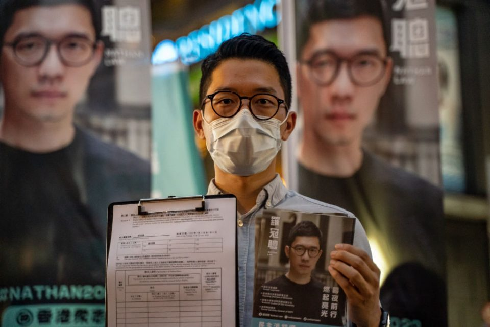 Hong Kong Legislative Council Election Begins