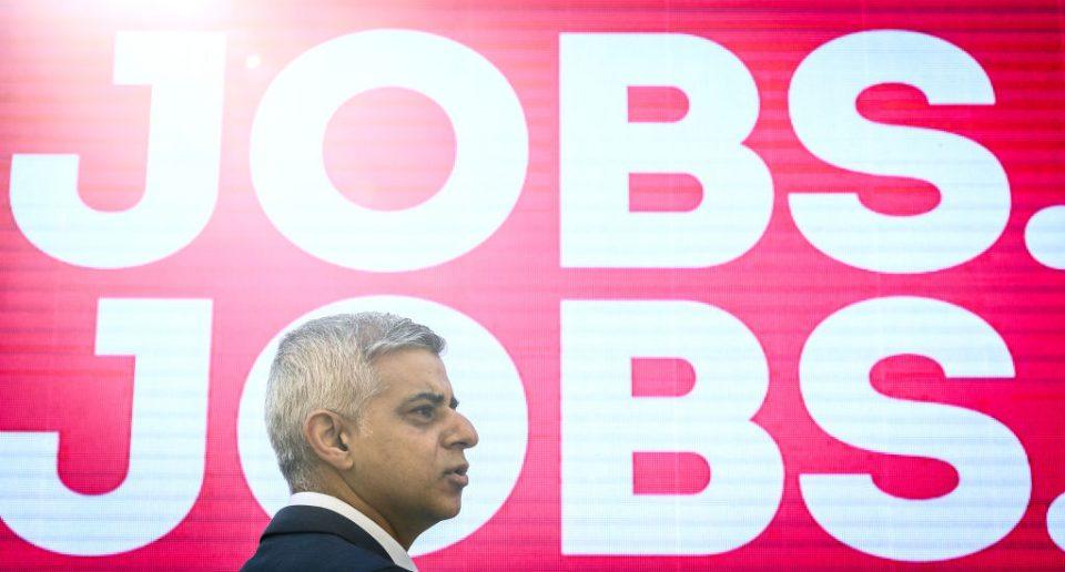 Mayor of London election: Khan pledges to create 170,000 green jobs : CityAM