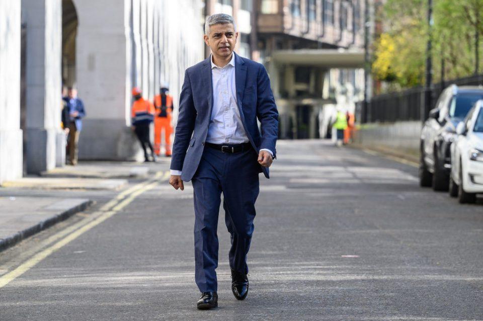 Labour's Mayor Of London Unveils Key Re-election Campaign Pledge