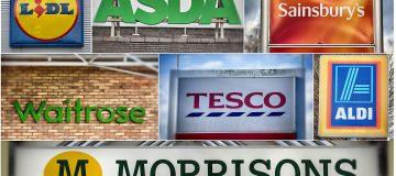 Leading UK Supermarkets