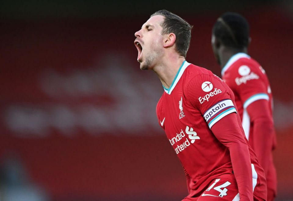 Liverpool captain Jordan Henderson was among the players to mobilise against the European Super League plans