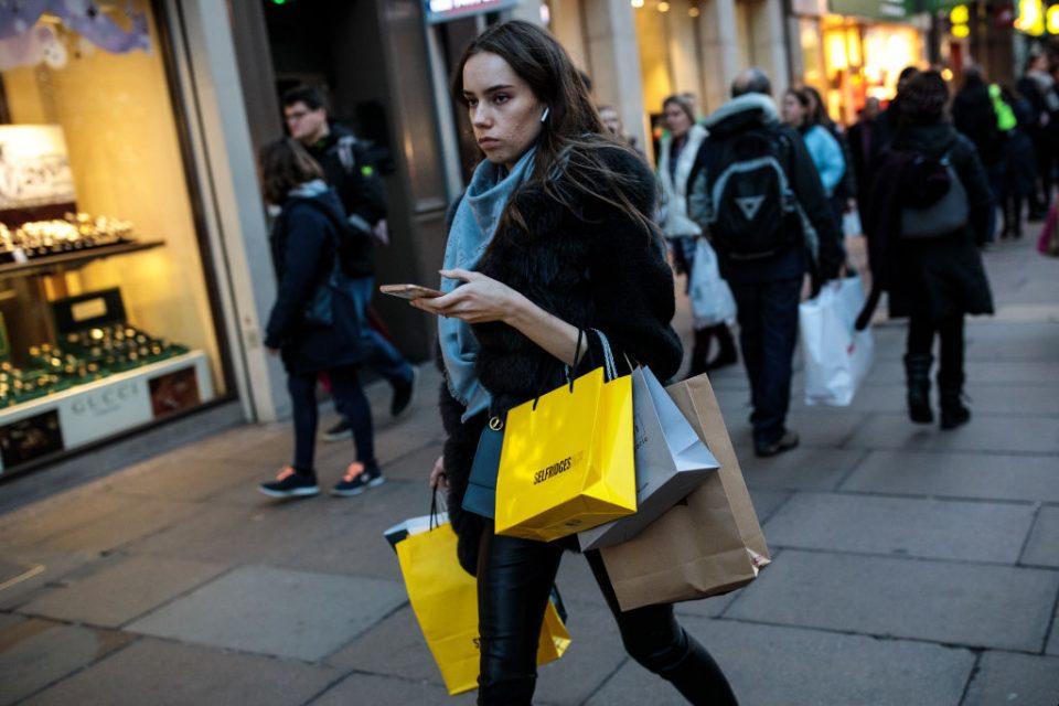 London's High Streets In Full Swing For Christmas