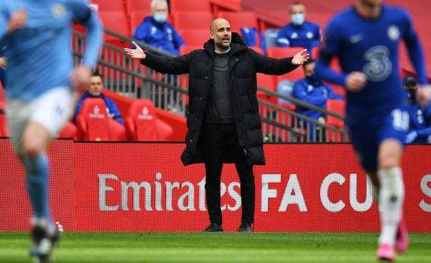 Manchester Citymanager Pep Guardiola also defied his paymasters by speaking out against the European Super League project