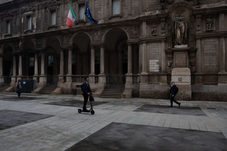 Milan's Urban Mobility Reshaped By Scooters And Bike-Shares