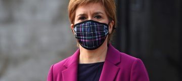 Nicola Sturgeon Continues Campaign Trail In South Queensferry