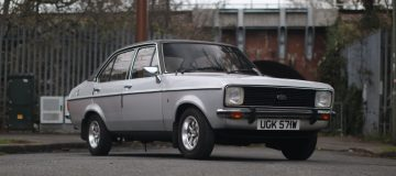 Timewarp one-owner 1979 Ford Escort up for auction