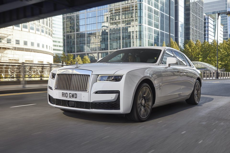 Rolls-Royce sold the most cars it ever has in the first quarter of the year in 2021, the luxury car brand announced today.