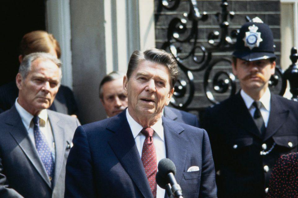Reagan In London