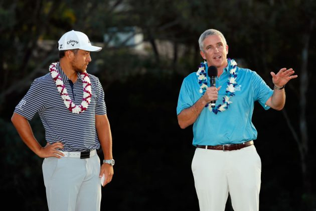 """PGA Tour commissioner Jay Monahan has joined the European Tour board as part of their recent """"strategic alliance"""""""