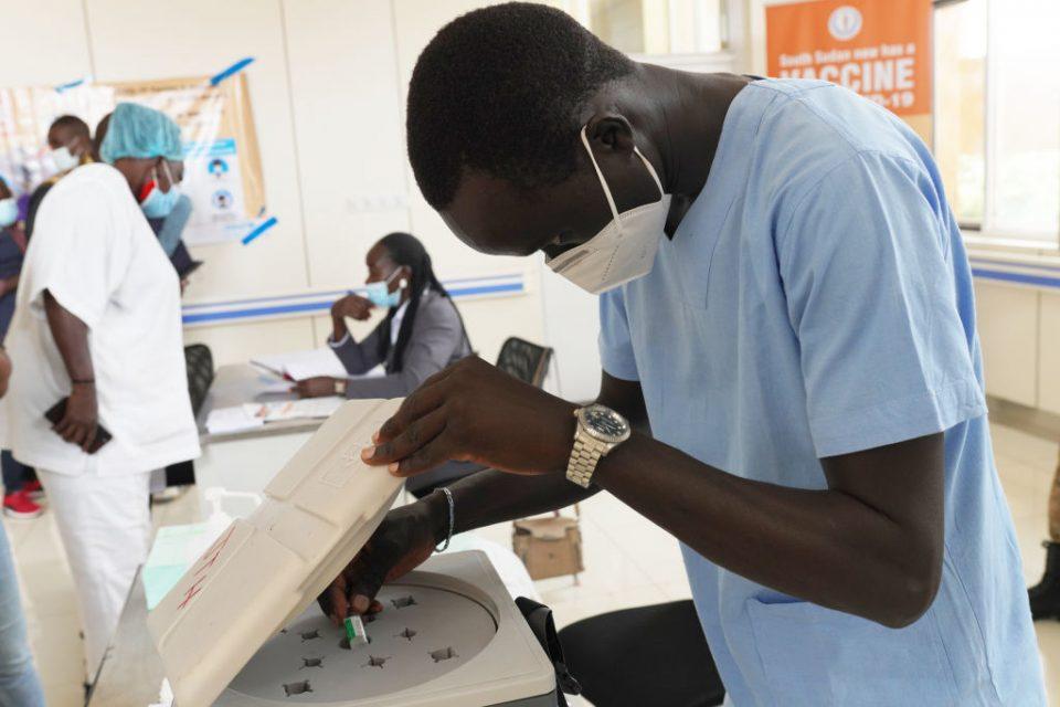 South Sudan Kickstarts Covid-19 Vaccination Campaign