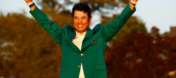 Hideki Matsuyama won the Masters on Sunday, beating debutant Will Zalatoris by one shot
