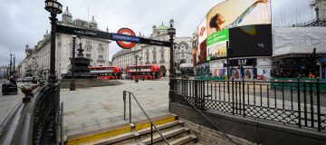 Tube Ridership At Around 20 Percent Of Pre-Pandemic Levels