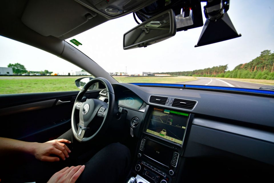 Britain's roads could see their first driverless cars by the end of the year after the Department for Transport gave an autonomous driving system the green light today.