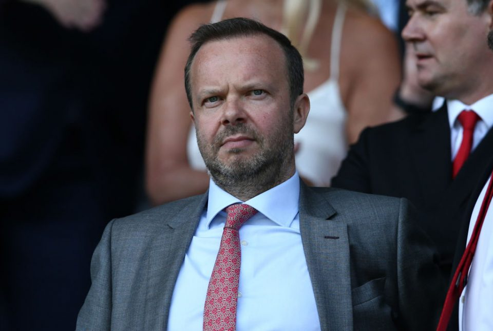 Ed Woodward resigns as Man United boss - reports