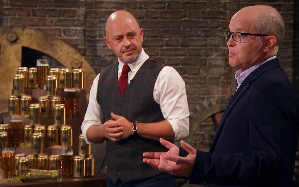 Genius Brewing will enter Dragon's Den tonight