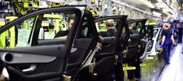 Mercedes maker Daimler today said it would cut the hours of some 18,500 workers at its factories in Germany due to the current shortage of semiconductor chips.