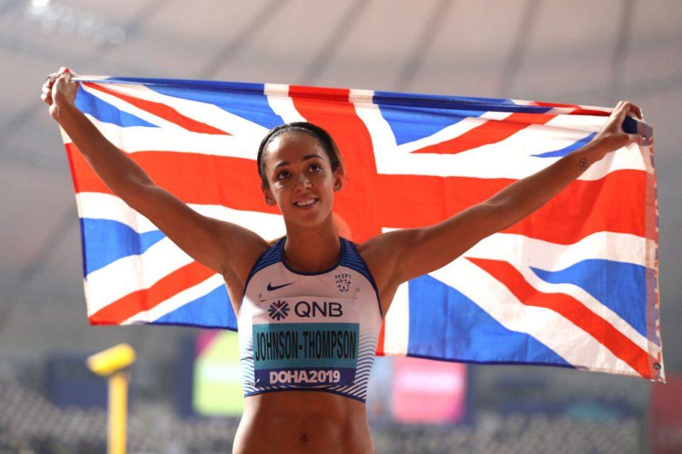 Beyond The White Line works with Team GB star Katarina Johnson-Thompson's academy