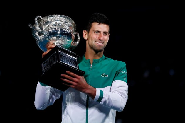 Novak Djokovic won his ninth Australian Open earlier this year after complaining about the lengthy period of hotel quarantine