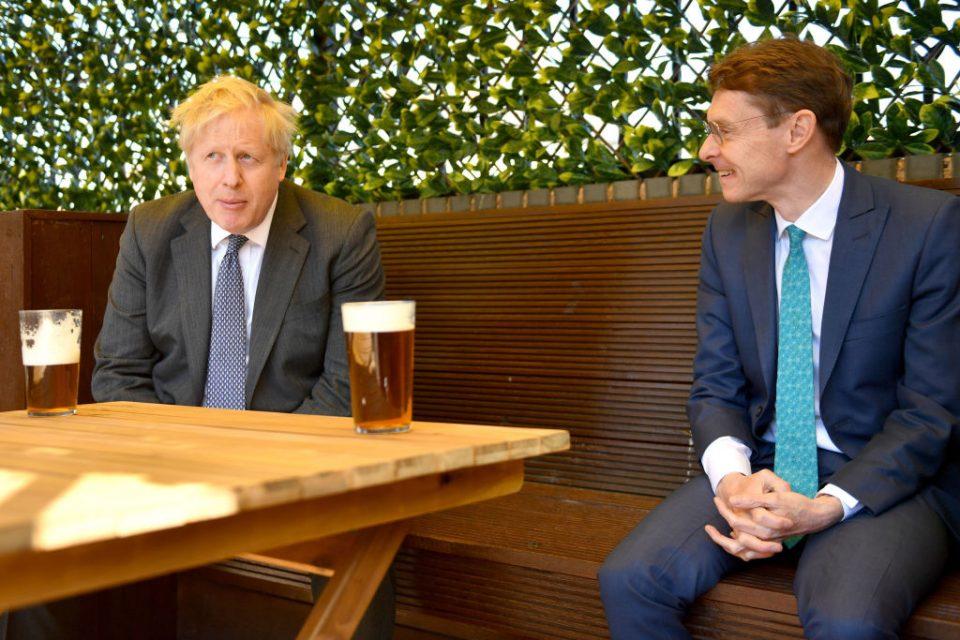 Boris Johnson Visits Wolverhampton