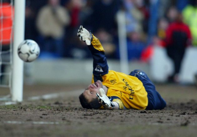 Chelsea's win over Charlton in Janurary 2003 sparked a row over their sandy plating surface that saw it dubbed 'Stamford Beach' - and earned the club a £5,000 fine