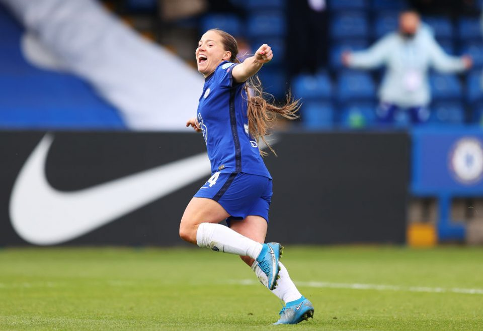 Fran Kirby of Chelsea is the top-rated player in our WSL Team of the Season, as picked by Carteret Anlytics