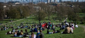 Easter Sunday In London Under Eased Lockdown Rules
