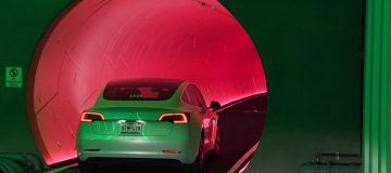 Elon Musk's Boring Company Demonstrates Transport Tunnel Underneath Las Vegas Convention Center