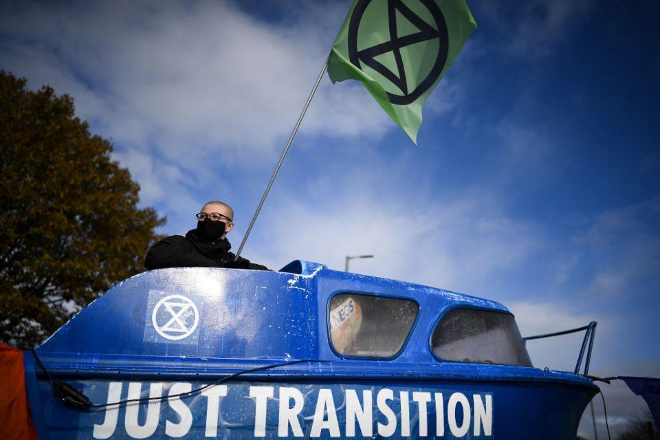 Extinction Rebellion Blockade Ineos Grangemouth