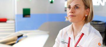 Susie Wolff is in her third season as team principal of Formula E outfit Venturi Racing