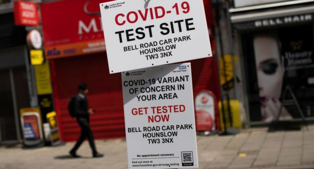 Covid-19 update: How large could UK's third wave of cases be?