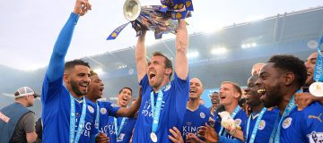 Christian Fuchs was part of the Leicester City team that pulled off the most unexpected title win in Premier League history in 2016