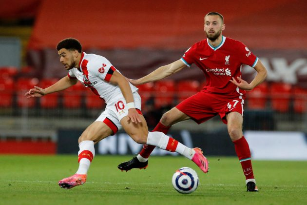 Centre-Back Nat Phillips, normally only a fringe player for Liverpool, has caught the eye with recent displays