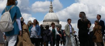 LONDON-BUSINESS-OPTIMISM-ECONOMY-UK